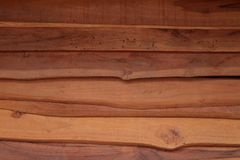 Horizontal old rough Wood lid texture wall texture background. Stock Photo