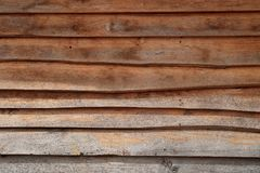 Horizontal old rough Wood lid texture wall texture background. Stock Images
