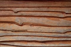 Horizontal old rough Wood lid texture wall texture background. Royalty Free Stock Photos