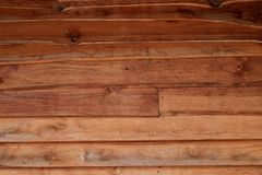 Horizontal old rough Wood lid texture wall texture background. Stock Photos