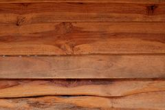 Horizontal old rough Wood lid texture wall texture background. Royalty Free Stock Images