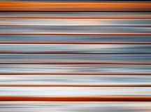 Horizontal orange and grey motion blur background stock photos