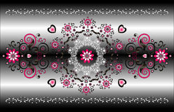 Horizontal ornament Royalty Free Stock Images