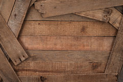 Rustic, Country Style Wood Slat Background Royalty Free Stock Photo
