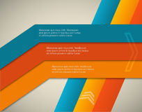 Horizontal-page-brochure-cover-lines-background Stock Photos