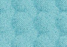 Horizontal pale blue maze pattern Royalty Free Stock Image