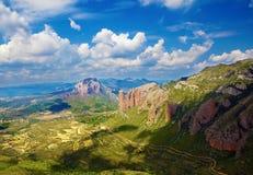 Horizontal panoramique Photos libres de droits