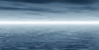 Horizontal panoramique illustration stock