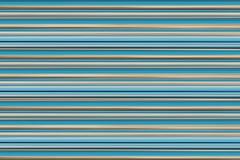 Horizontal pastel lines retro background blue aqua beige stripes parallel base card postcard Royalty Free Stock Photography
