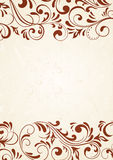 Horizontal pattern on light background. Decorative template for text, illustration Royalty Free Stock Photos