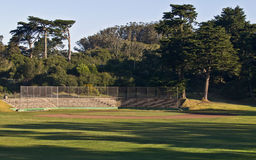 Baseball Field in Morning Light Royalty Free Stock Image