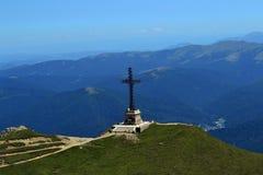 Horizontal pittoresque de montagne image libre de droits