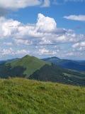 Horizontal polonais de montagnes photos libres de droits
