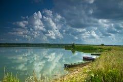 Horizontal près de la rivière Photographie stock