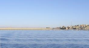 Paysage près de Philae en Egypte Photo libre de droits