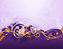 Horizontal purple pattern Stock Photography