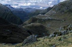 Horizontal raboteux de montagne Images libres de droits