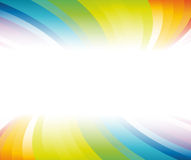 Horizontal rainbow banner Stock Photos