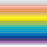 Horizontal rainbow panels seamless pattern Royalty Free Stock Image