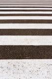 Horizontal Road sign stripes Royalty Free Stock Image