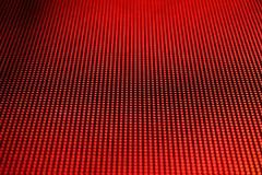 Horizontal rouge de photo d'écran de LED Photo libre de droits