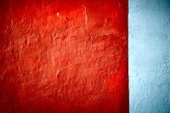 Horizontal rouge de texture grunge Images libres de droits