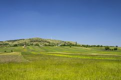 Horizontal rural au printemps Images stock