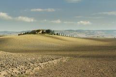 Horizontal rural de la Toscane photo libre de droits