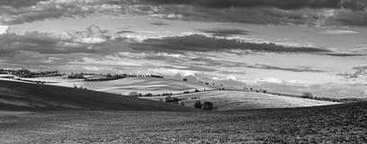 Horizontal rural de source photos libres de droits