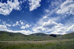 Horizontal rural HDR de pays Photographie stock libre de droits
