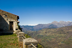 Horizontal rural italien Photos libres de droits