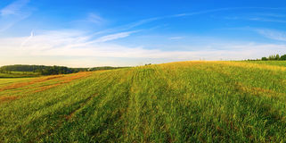 Horizontal rural panoramique Photo libre de droits