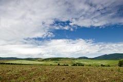 Horizontal rustique et idyllique en Hongrie Image libre de droits