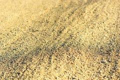 Horizontal sand warm texture background Stock Photography