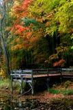 Horizontal scénique d'automne en Pennsylvanie photo libre de droits
