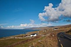 Horizontal scénique d'illustration de à l'ouest de l'Irlande Images stock