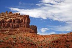 Horizontal scénique de désert Photographie stock libre de droits