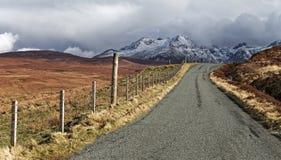 Horizontal scénique de montagne Image stock