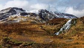 Horizontal scénique de montagne Photo libre de droits