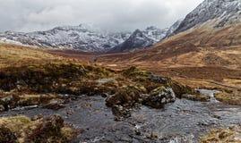 Horizontal scénique de montagne Photos stock