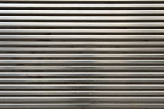 Shiny Metal Grill Wall Stock Photo