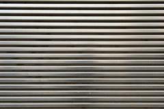 Shiny Metal Grill Wall Stock Photo