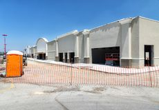 Retail Construction Site in Tennessee Royalty Free Stock Photography