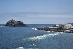The quaint Garachico village, Tenerife, Canary Islands, Spain stock photos