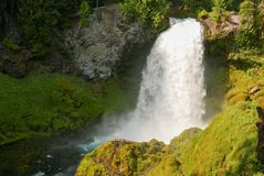 Sahalie Falls Oregon Royalty Free Stock Photo