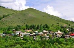 Horizontal sibérien rural image libre de droits