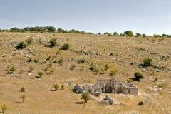 Horizontal sicilien Image libre de droits