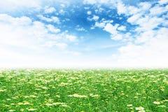 Horizontal solaire Images libres de droits