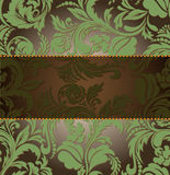 Horizontal strip on an ornament Royalty Free Stock Photo