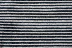 Horizontal stripes black grey Stock Images